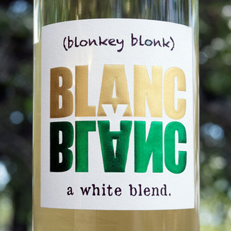 Blanc Y Blanc 2016 White Blend 750ml Wine Label