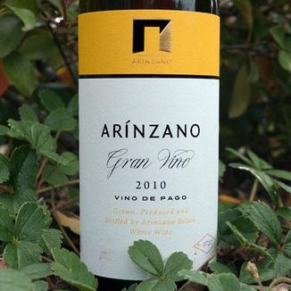"Arinzano 2010 D.O.P. Pago de Arinzano ""Gran Vino Blanco"" Chardonnay 750ml Wine Label"