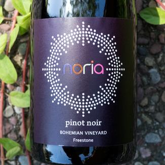 Noria 2015 Bohemian Vineyard Freestone Pinot Noir 750ml Wine Bottle