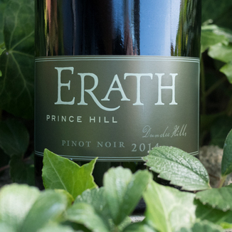 Erath Winery 2014 Prince Hill Dundee Hills Pinot Noir 750ml Wine Label