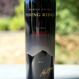 Young Ridge 2012 Premium Reserve Napa Valley Cabernet Sauvignon 750ml Wine Bottle