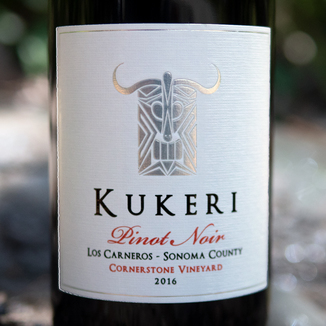 Kukeri Wines 2016 Cornerstone Vineyard Los Carneros Sonoma County Pinot Noir 750ml Wine Label