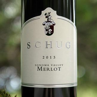 Schug Carneros Estate 2013 Sonoma Valley Merlot 750ml Wine Bottle