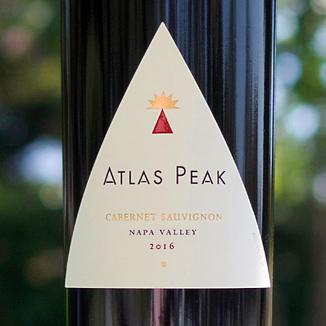Atlas Peak Wines 2016 Napa Valley Cabernet Sauvignon 750ml Wine Label
