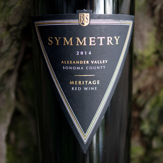 Rodney Strong Vineyards 2014 Symmetry Alexander Valley Meritage 750ml Wine Bottle