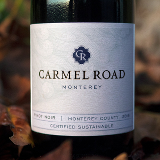 Carmel Road 2016 Monterey County Pinot Noir 750ml Wine Label