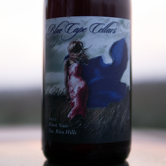Blue Cape Cellars 2012 Santa Rita Hills Pinot Noir 750ml Wine Bottle