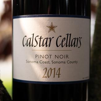 Calstar Cellars 2014 Sonoma Coast, Sonoma County Pinot Noir 750ml Wine Bottle
