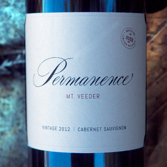 "GrapeSeed Wines 2012 ""Permanence"" Mt. Veeder Napa Valley Cabernet Sauvignon 750ml Wine Label"