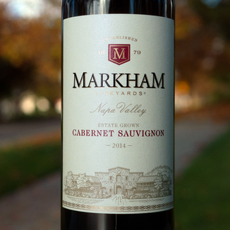 Markham Vineyards 2014 Estate Grown Napa Valley Cabernet Sauvignon 750ml Wine Bottle