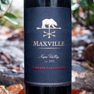 Maxville 2014 Napa Valley Cabernet Sauvignon 750ml Wine Label