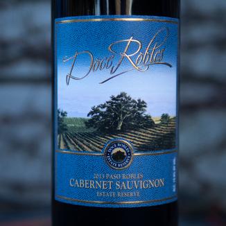 Doce Robles 2013 Paso Robles Cabernet Sauvignon Estate Reserve 750ml Wine Label