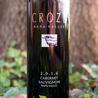 Croze 2016 Napa Valley Cabernet Sauvignon 750ml Wine Label