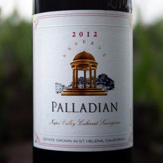 Palladian Estate Winery 2012 Napa Valley Reserve Cabernet Sauvignon (Signed!) 750ml Wine Label