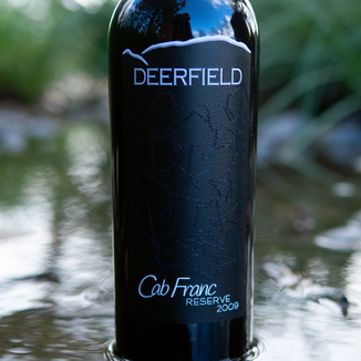 Deerfield Ranch 2009 Cabernet Franc Reserve Sonoma Valley 750ml Wine Label