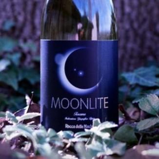 """Rocca delle Macie 2014 Toscana Indicazione Geografica Tipica """"Moonlite"""" 750ml Wine Label"""