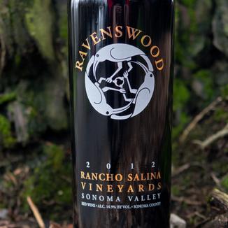 Ravenswood Winery 2012 Rancho Salina Vineyards Sonoma Valley Cabernet Blend 750ml Wine Label