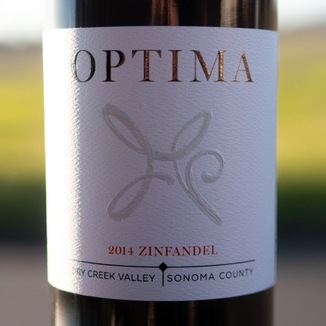 Optima Winery 2014 Dry Creek Valley Sonoma County Zinfandel 750ml Wine Bottle