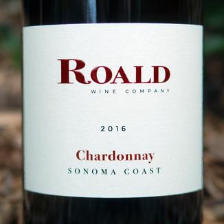 Roald Wine Company 2016 Sonoma Coast Chardonnay 750ml Wine Label