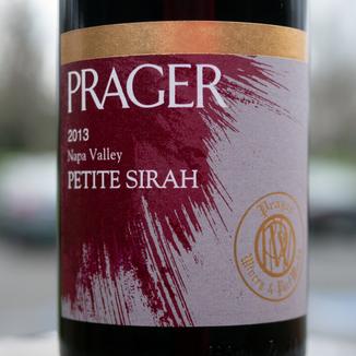 Prager Winery & Port Works 2013 Napa Valley Petite Sirah 750ml Wine Bottle