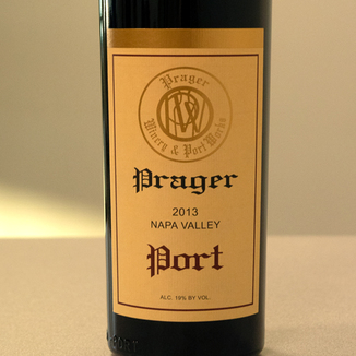 Prager Winery & Port Works 2013 Napa Valley Port 750ml Wine Label