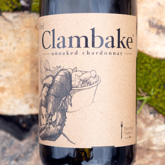 "Ripe Life Wines 2014 ""Clambake"" Mendocino County Chardonnay 750ml Wine Label"