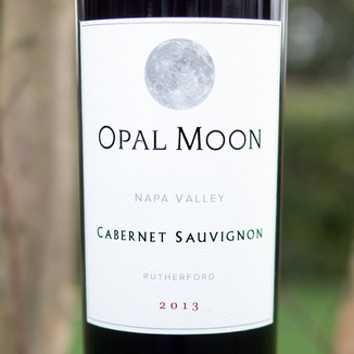 Opal Moon 2013 Napa Valley Rutherford Cabernet Sauvignon 750ml Wine Label