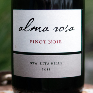 Alma Rosa Winery & Vineyards 2015 Santa Rita Hills Pinot Noir 750ml Wine Bottle
