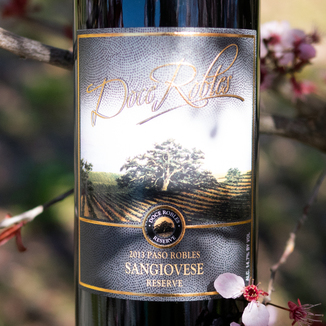 Doce Robles 2013 Paso Robles Reserve Sangiovese 750ml Wine Bottle