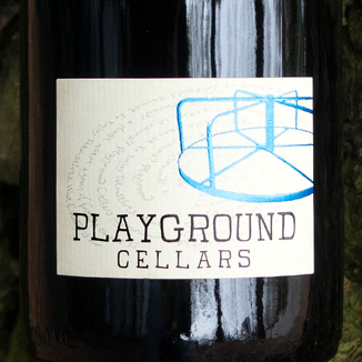 Playground Cellars 2015 Paso Robles Grenache 750ml Wine Label