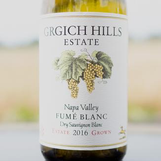 Grgich Hills Estate 2016 Grgich Hills Estate Fume Blanc 750ml Wine Label