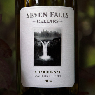 Seven Falls Cellars 2014 Wahluke Slope Chardonnay 750ml Wine Label