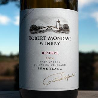 Robert Mondavi Winery 2014 To Kalon Vineyard Oakville Reserve Fumé Blanc 750ml Wine Bottle