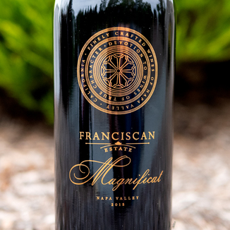 Franciscan Estate 2015 'Magnificat' Red 750ml Wine Label