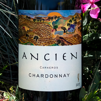 Ancien 2015 Carneros Chardonnay 750ml Wine Label
