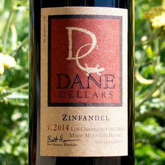 Dane Cellars 2014 Los Chamizal Vineyard Zinfandel 750ml Wine Bottle