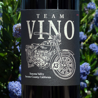 "Annadel Estate Winery 2013 ""Team Vino"" Red Blend 750ml Wine Label"