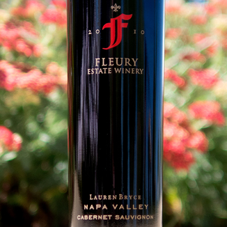 "Fleury Estate 2010 ""Lauren Bryce"" Napa Valley Cabernet Sauvignon 750ml Wine Label"