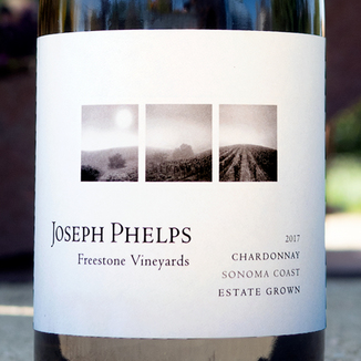 Joseph Phelps 2017 Freestone Vineyards Sonoma Coast Chardonnay 750ml Wine Bottle