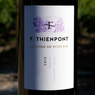 François Thienpont 2012 Lalande de Pomerol AOC 750ml Wine Bottle