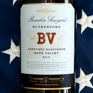Beaulieu Vineyard 2015 Rutherford Cabernet Sauvignon MAGNUM 750ml Wine Label