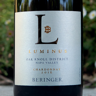 Beringer Vineyards 2016 Distinction Series 'Luminus' Oak Knoll Chardonnay 750ml Wine Label