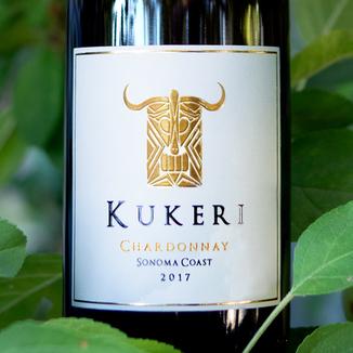 Kukeri Wines 2017 Sonoma Coast Chardonnay 750ml Wine Label