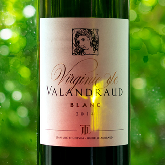 Château Valandraud 2014 'Virginie de Valandraud' Bordeaux Blanc AOC 750ml Wine Label