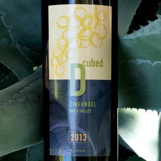 D-Cubed Cellars 2013 Napa Valley Zinfandel 750ml Wine Bottle