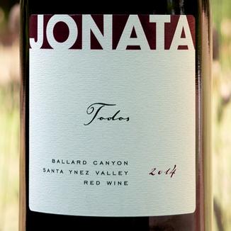 Jonata 2014 'Todos' Ballard Canyon Proprietary Red 750ml Wine Label