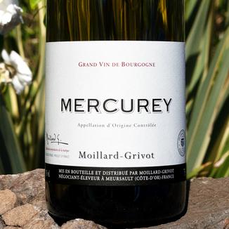 Moillard-Grivot 2013 Mercurey Blanc AOC 750ml Wine Label