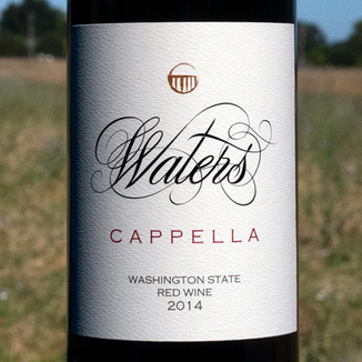Waters 2014 'Cappella' Cabernet Franc Blend 750ml Wine Bottle