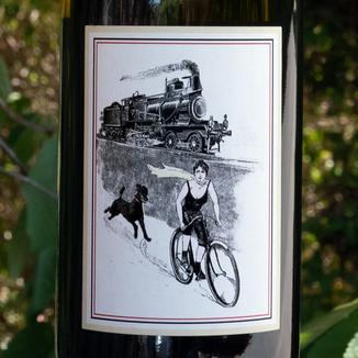 Olivia Brion 2014 Heron Lake Vineyard Wild Horse Valley Chardonnay 750ml Wine Label