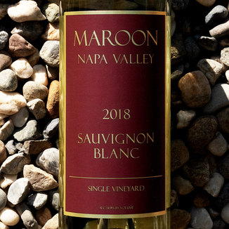 Maroon Wines 2018 Single Vineyard Napa Valley Sauvignon Blanc 750ml Wine Bottle